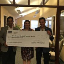 Palumbo Insurance Associates Directs $5,000 to The Sexual Assault/Spouse Abuse Resource Center (SARC) as Winner of 2016 Safeco Insurance® Make More Happen Award