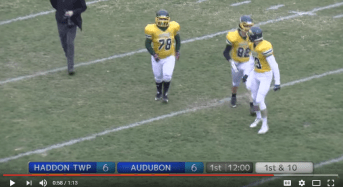WATCH: HS student with Down syndrome scores TD in Thanksgiving game