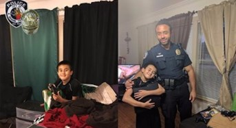 Sympathetic Cop Replaces Boy's Stolen Game Console With His Own