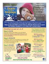 "Harford Family House's ""Home for the Holidays"" Campaign"