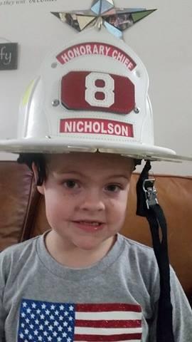Honorary Fire Chief, Nathaniel Nicholson