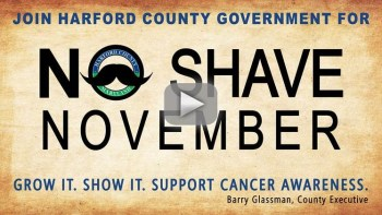 "Harford County Joins ""No Shave November"" Campaign to Grow Cancer Awareness"