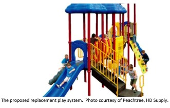 Edgewood Lions Club Pledges $17,000 for New Playground