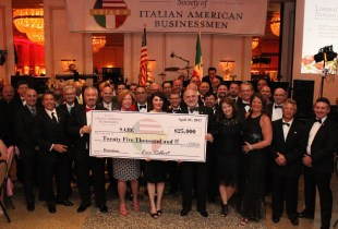 Society of Italian American Businessmen Donates $25,000 to SARC