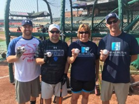Harford Family House and Area Business Leaders Go To Bat for the Homeless
