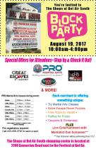 "Community Invited to Attend the ""Block Party"" at the Bel Air South Shopping Center August 19"