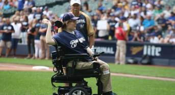 Once a Quadriplegic He Now Throws Ceremonial First Pitch After Breakthrough Treatment