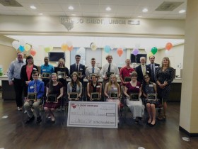 $19,500 Awarded by HAR-CO Credit Union to the Class of 2018