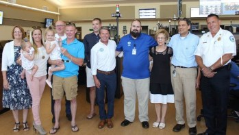 Harford County Reunites Family of Bel Air Toddler with Life-Saving County Employees