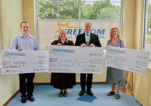 Freedom Federal Credit Union Selects Three Harford County Teachers To Win Golden Apple Awards