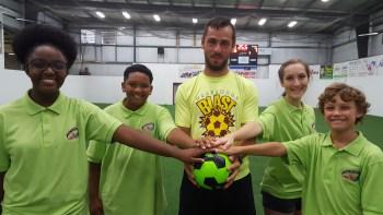 """Baltimore Blast Goalie Vanzela, Saunders Join """"Goals for Grace"""" Soccer PK Fundraiser"""