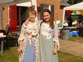 Colonial Wear, Food, and Joppa History
