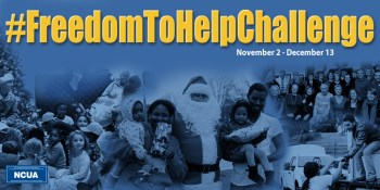 Freedom Federal Credit Union Launches #FreedomToHelpChallenge