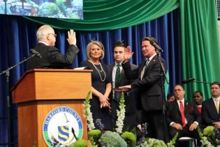 "Unity and ""High Hope for the Future"" at Harford County Government's Inauguration Ceremony"