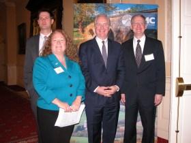 U.S. Senator Chris Van Hollen addresses rural stakeholders at Annapolis legislative