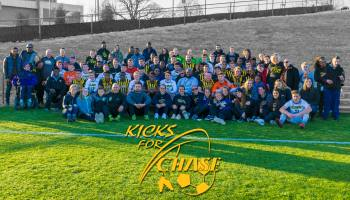 "UMBC vs. La Salle University at ""Kicks for Chase"""