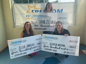 Freedom Federal Credit Union Selects Three Harford County Public Schools Teachers to Win Golden Apple Awards