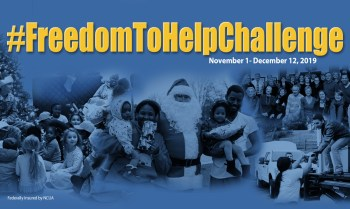Freedom Federal Credit Union Launches Second Annual #FreedomToHelpChallenge