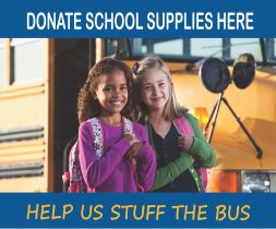 Education Foundation's Stuff the Bus Campaign is Underway