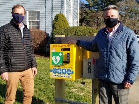 Harford County Installs Lifesaving Equipment Along Several County Trails for Public To Use In Case Of Emergency