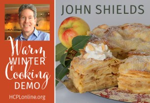 Harford County Public Library Hosts Chef John Shields for Virtual Warm Winter Cooking Demo