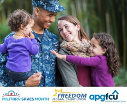 Installation Credit Unions Join Together in Support of Military Saves Month