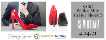 Support Victims of Intimate Partner Violence by attending the Virtual Walk a Mile in Her Shoes®