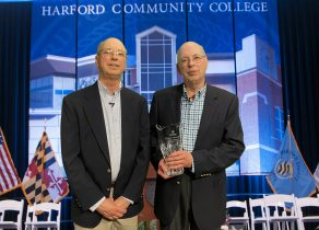 2021 Harford Community College Distinguished Alumni Award Presented to Charles and Richard Bauer