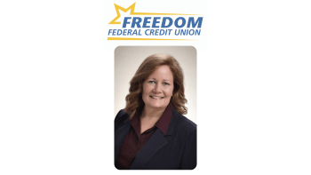 FREEDOM FEDERAL CREDIT UNION ELECTS NEW BOARD CHAIR