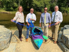 Harford County Opens New Canoe/Kayak Launch on Deer Creek at Walters Mill Road