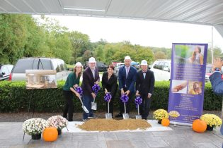 SARC Harford County gathered to celebrate breaking ground on two projects that will provide safety and support to victims of domestic and sexual violence.