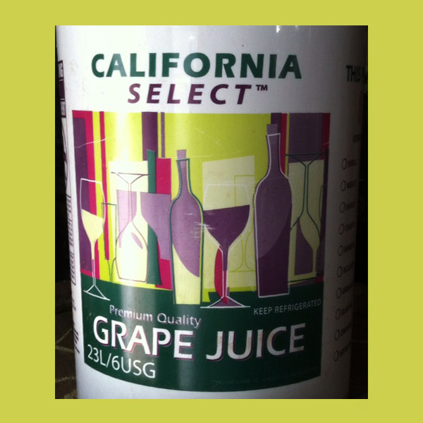 California Juices Thompson Seedless