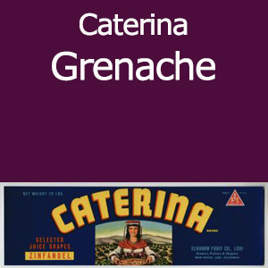 Caterina Grenache Clement Hills AVA Base of Sierra Foothills