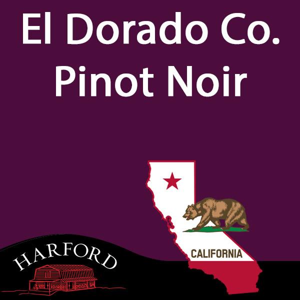El Dorado Co.Pinot Noir (Sierra Nevada Foothills)