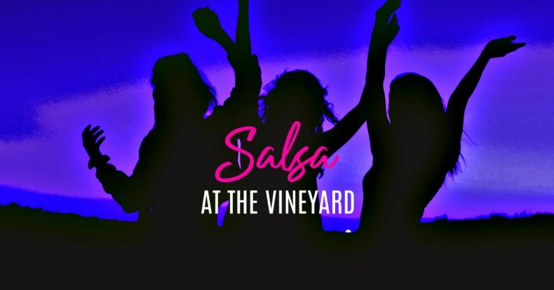 Salsa Dancing at the Vineyard