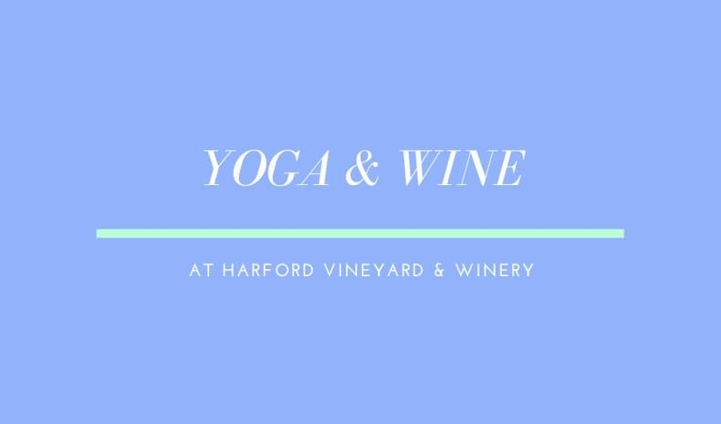 Yoga & Wine - 8/13 (21+)