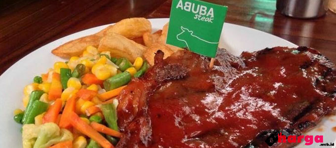 ABUBA Steak - hargamenuinfo.blogspot.co.id