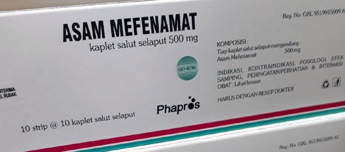 Grafamic mefenamic acid 500 mg obat apa