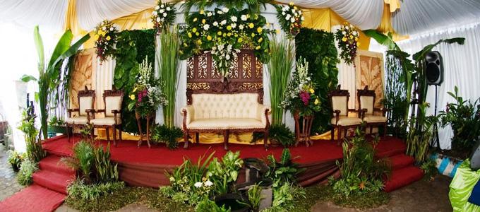 Harga Terbaru Dekorasi Resepsi Pernikahan di Rumah | Daftar Harga ...