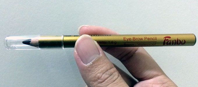 Fanbo Gold Eye Brow Pencil (sumber: id.carousell.com)