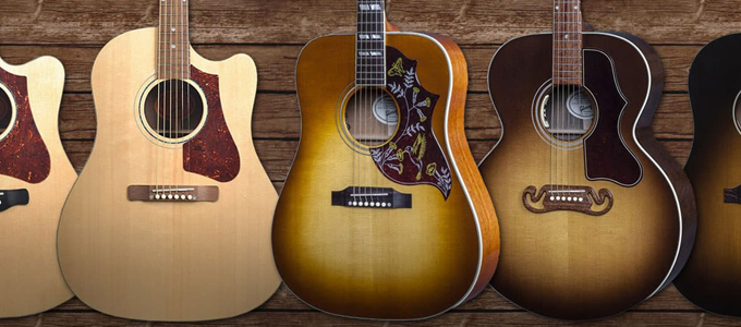 Gibson Acoustic Guitars (sumber: andertons.co)