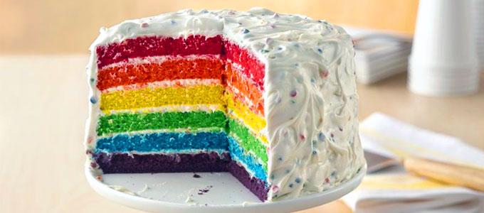 Harga Terbaru Kue Rainbow Cake Per Slice & Whole Cake Daftar Harga & Tarif