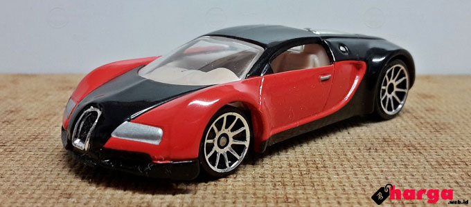 Hot Wheels Bugatti Veyron - www.modelly.com