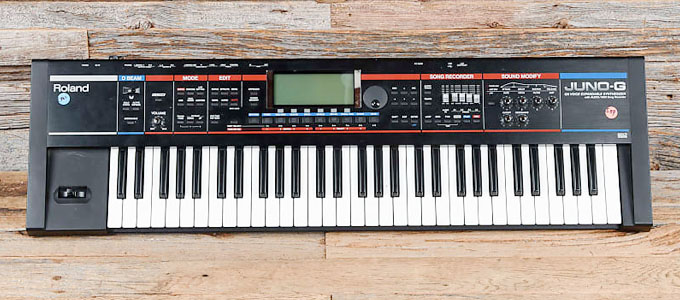 Keyboard Synthesizer Roland Juno-G - reverb.com