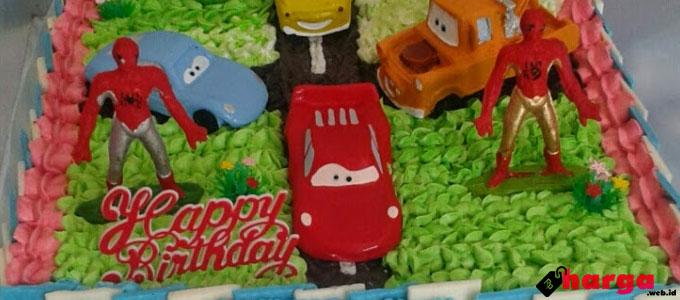 Kue Tart Ulang Tahun Untuk Daftar Harga Tarif