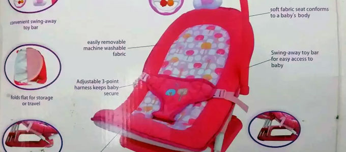 Babyelle Fold Up Infant Seat (sumber: olx.co.id)