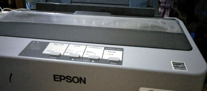 Printer dot matrix Epson LX-310 (sumber: prelo.co.id)