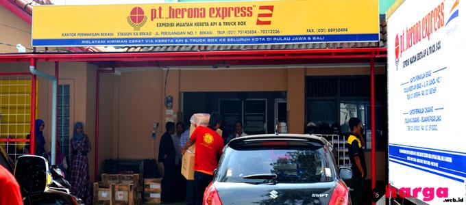 Update Daftar Tarif Pengiriman (Ongkir) Herona Express ke Seluruh ...