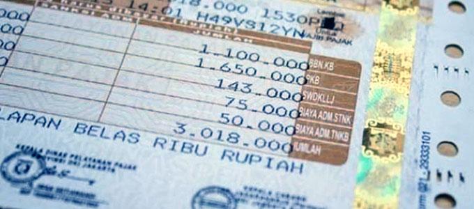 Cara Menghitung Besaran Biaya Denda Pajak Mobil Daftar Harga Tarif