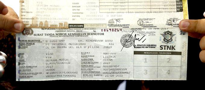 Prosedur & Biaya Ganti Warna Motor di STNK   Daftar Harga ...